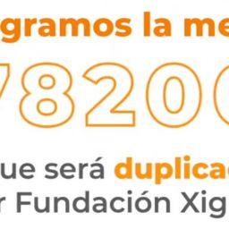 Logramos la meta - Reto Fundación Xignux